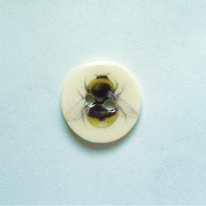 Bumblebee Small Circular Button