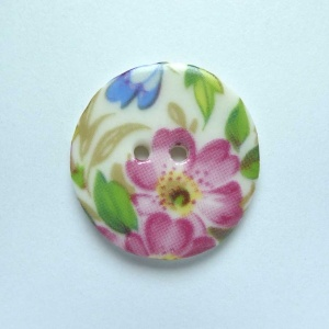 Florence Medium Circular Button