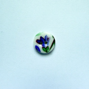 Spring Sprig Tiny Circular Button