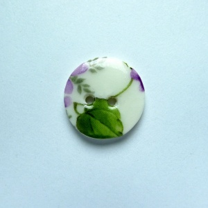 Violet Small Circular Button