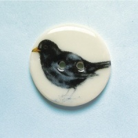 Blackbird Medium Circular Button