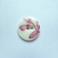 Chinese Pink Small Circular Button