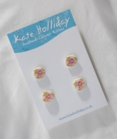 Packet of Four Rose Shank Buttons