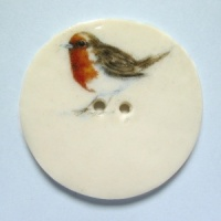 Robin Large Circular Button