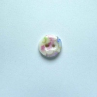 Soft Blossom Tiny Circular Button