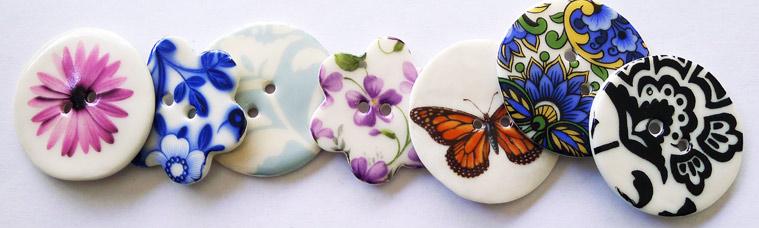 Kate Holliday Ceramics - Large Buttons