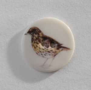 Medium Circular Thrush Button
