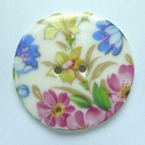 Florence Large Circular Button
