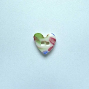 Florence Tiny Heart Button