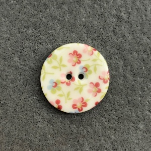 Soft Sprig Medium Circular Button