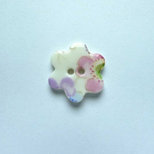 Soft Blossom Small Flower Button