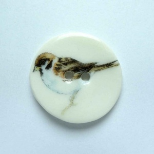 Sparrow Medium Circular Button