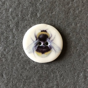 Bumble Bee Smaller Medium Button