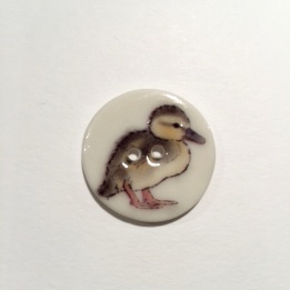 Duckling Smaller Medium Button