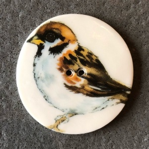 Giant Sparrow Large Circular Button