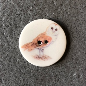 Owl Medium circle button