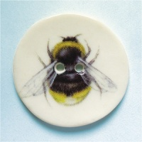 Bumblebee Large Circular Button