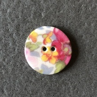 Cottage Garden Smaller Medium Button