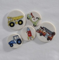 Assorted Transport Buttons