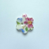 Florence Small Flower Button