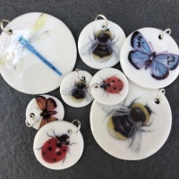 Assorted Insect Pendants