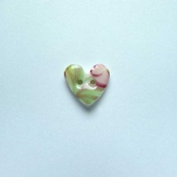 Summer Posy Tiny Heart Button