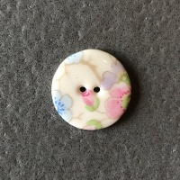 Soft Blossom Smaller Medium Circular Button