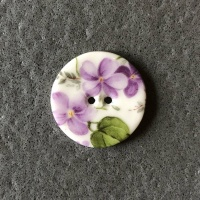 Violet Smaller Medium Circular Button