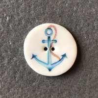 Anchor Medium Circular Button