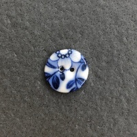 Summer Night Small Circular Button
