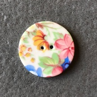 Summer Posy Medium Circular Button