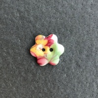 Summer Posy Small Flower Button